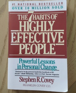 7 habits of highly effective people by Stephen R. Covey is a classic self-help and success book